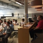 Euxcel Participants Munich in presentation to Start-up Scrum