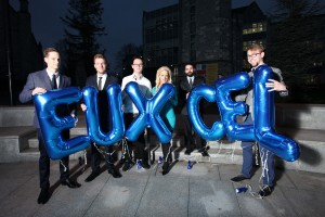 DC 03/11/2015 - REPRO FREE FREE PIC Aspiring tech entrepreneurs from across the European Union battled to win the EUXCEL virtual accelerator programme at UCC. From a shortlist of 12 international startup teams, the winners were announced at University College Cork (UCC) Ireland and include WeQ4U, Datamine, Craw.ly. Pic: Diane Cusack